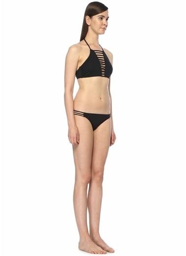 Melissa Odabash İp Detaylı Bikini Takım Siyah
